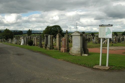 Commonwealth War Graves New Monkland Cemetery
