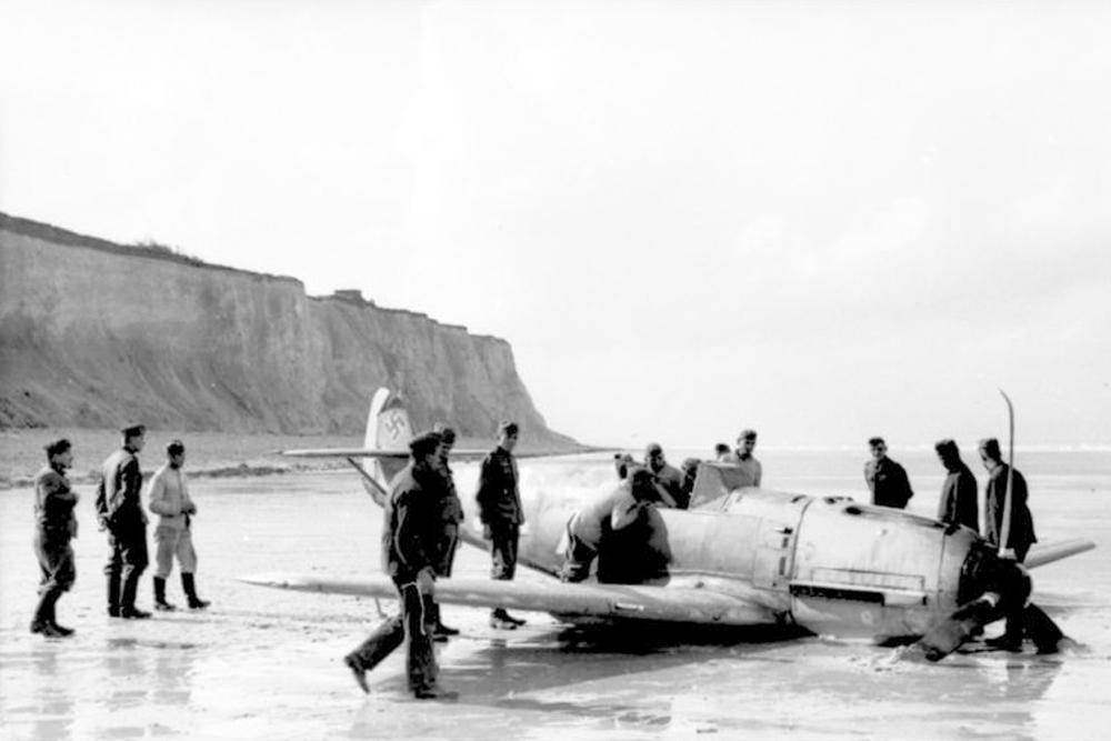 Crashlocatie Bf 109 E-7 W.Nr. 4091