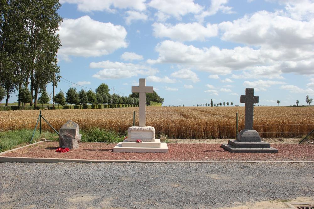 Memorial Captain Vaux Salvin Bowlby