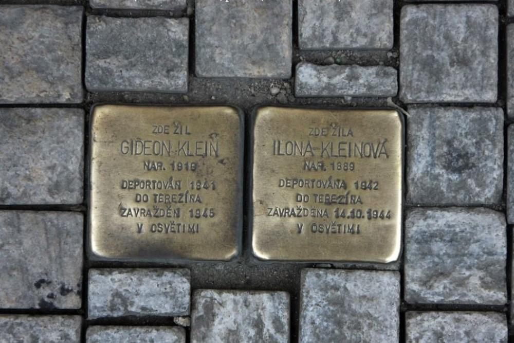 Stolpersteine Rašínovo nábřeží 1696/66
