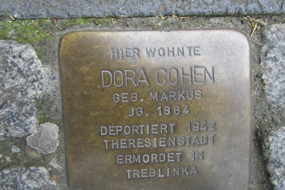 Stolperstein Domstraße 21