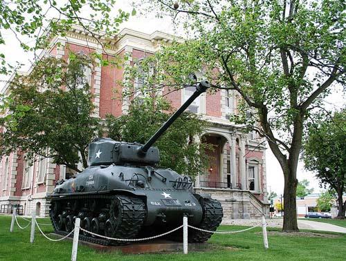 M4A3E8 Sherman Tank Winchester