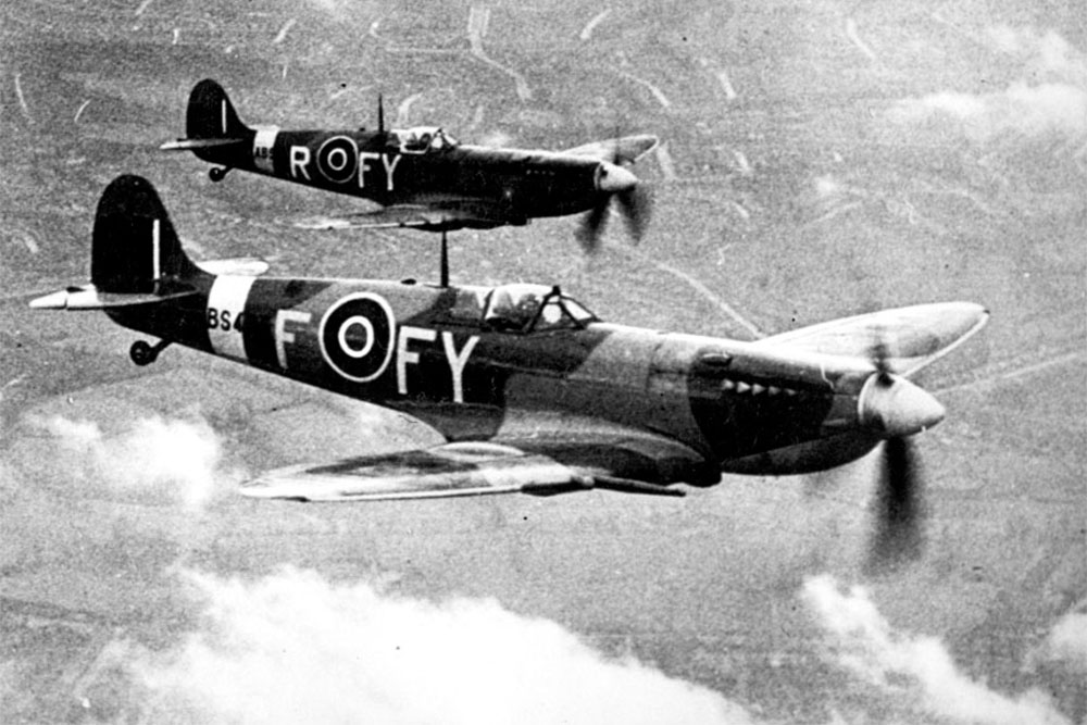 Crashlocatie Spitfire F.IX BS438 UZ-N