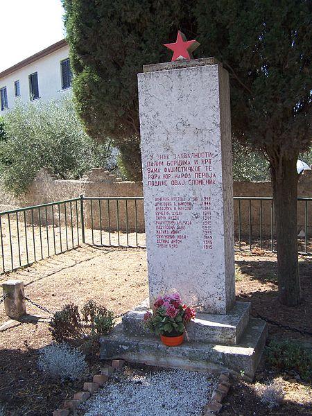 Memorial Killed Partisans Peroj