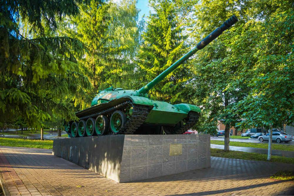 T-54M Tank Kozelsk