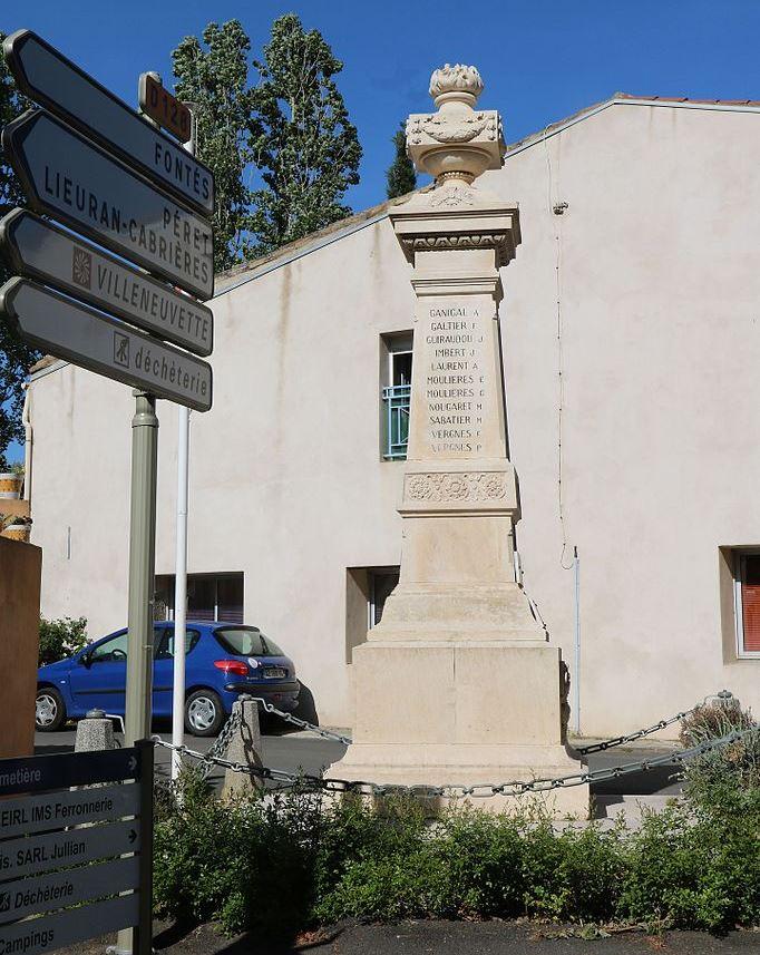 War Memorial Adissan