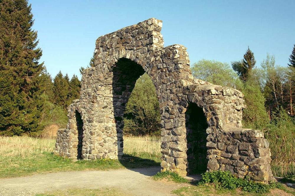 Location Former RAD Camp Schwarzes Moor