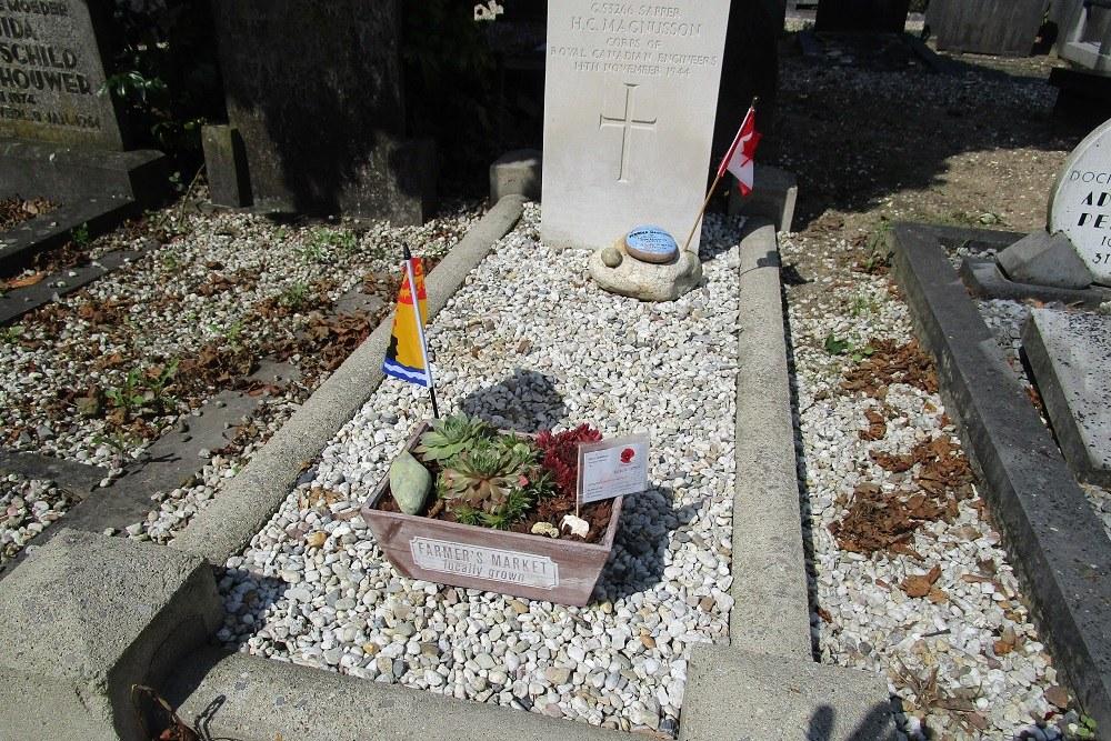 Oorlogsgraf van het Gemenebest Algemene Begraafplaats Gorinchem