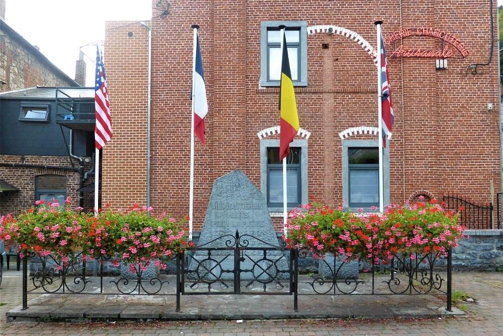 War Memorial Hastière