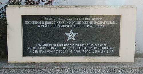 Soviet War Graves Poysdorf