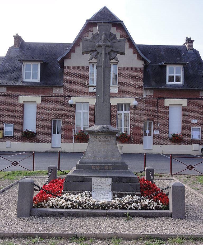 War Memorial Gricourt