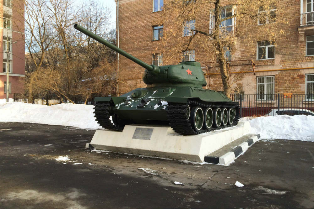T-34/85 Tank Moscow