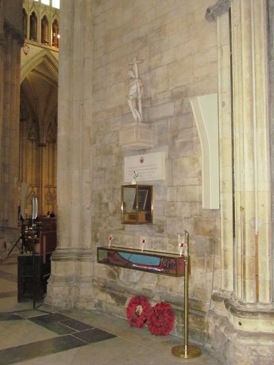Monument Normandy Veterans Association York Minster