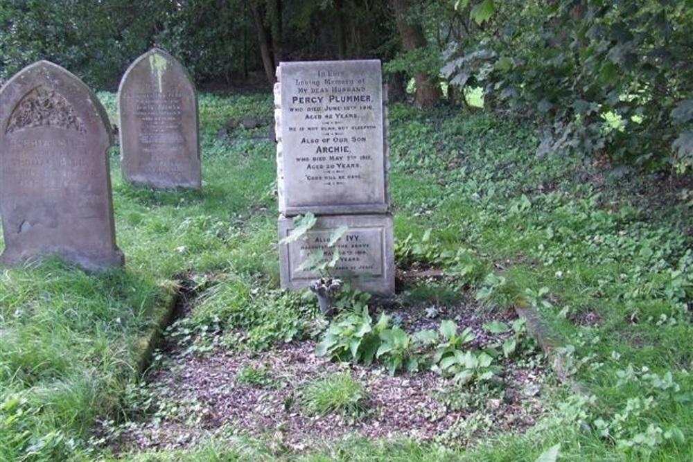 Oorlogsgraf van het Gemenebest Bardwell Baptist Burial Ground