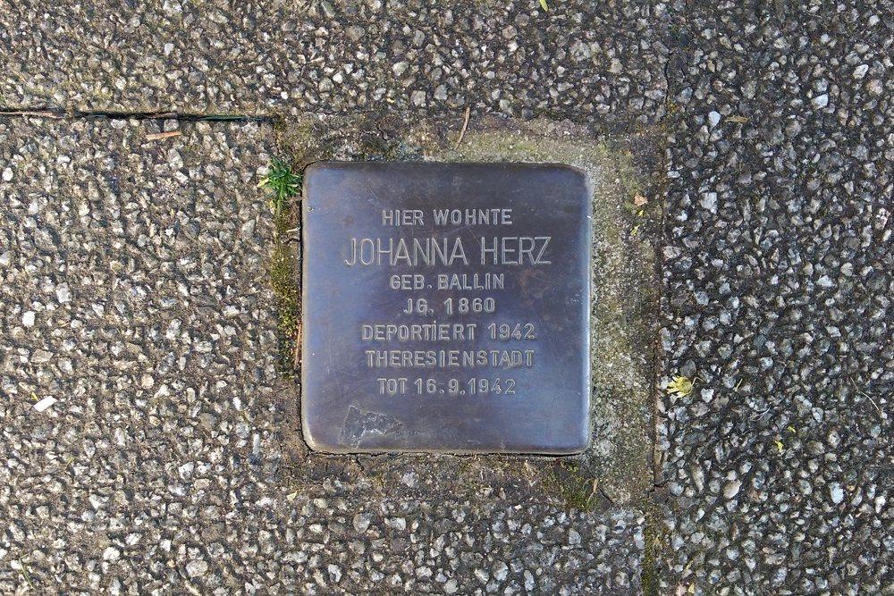 Stumbling Stone Gustav-Freytag-Straße 3