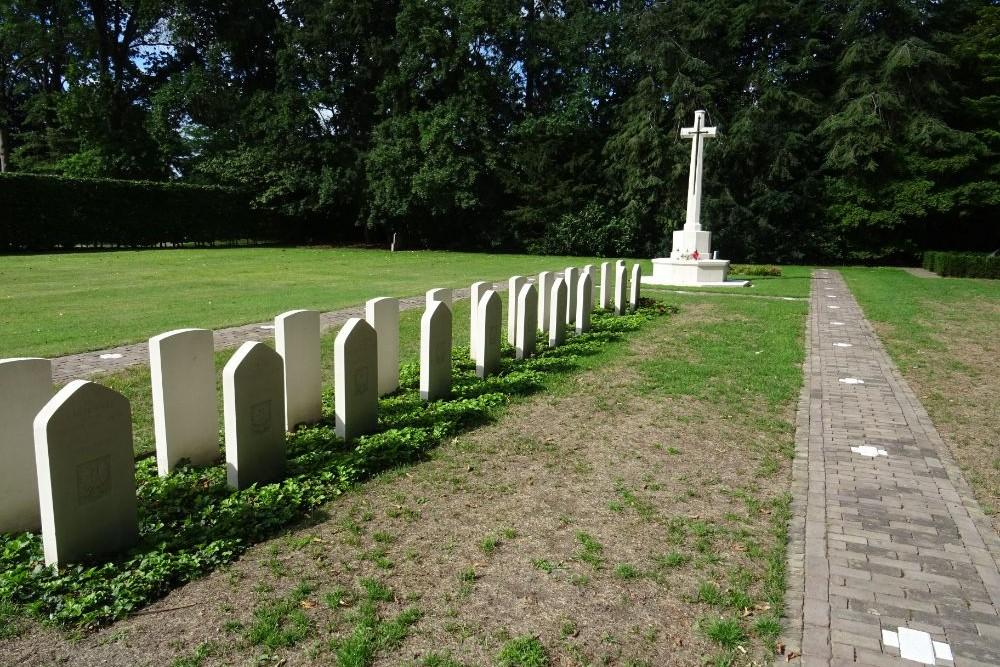 Polish War Graves General Cemetery Gilzerbaan