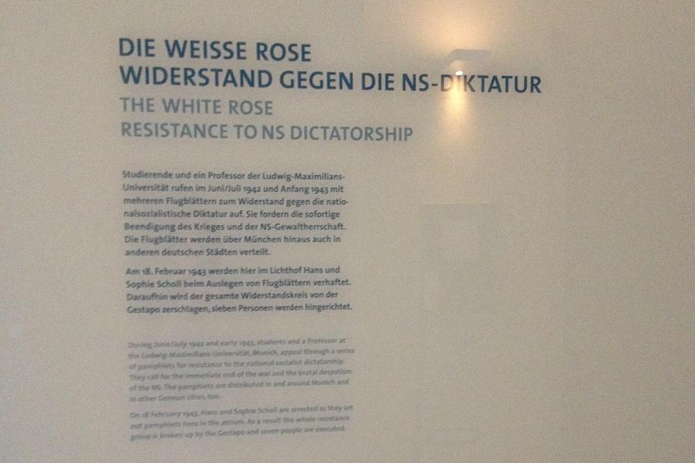 Documentatiecentrum Weiße Rose Verzetsgroep