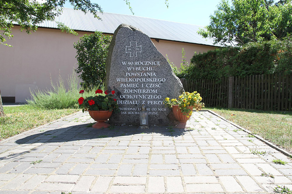 Monument Wielkopolska Opstand Perzyny
