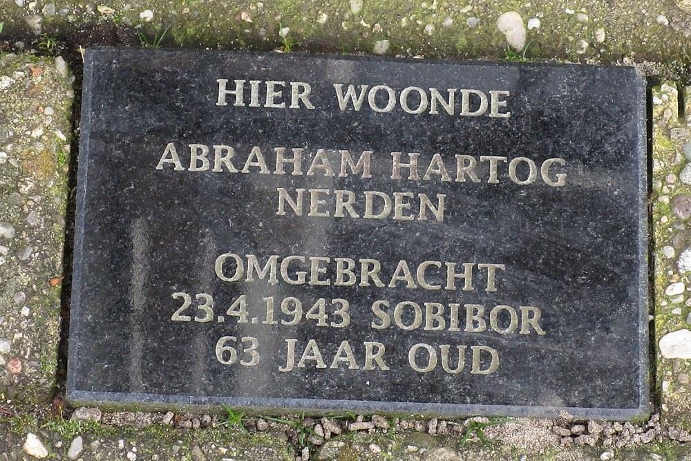 Herdenkingssteen Badhuisweg 28