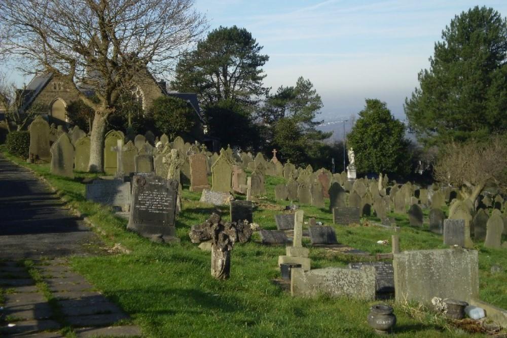 Oorlogsgraven van het Gemenebest St. Peter Churchyard