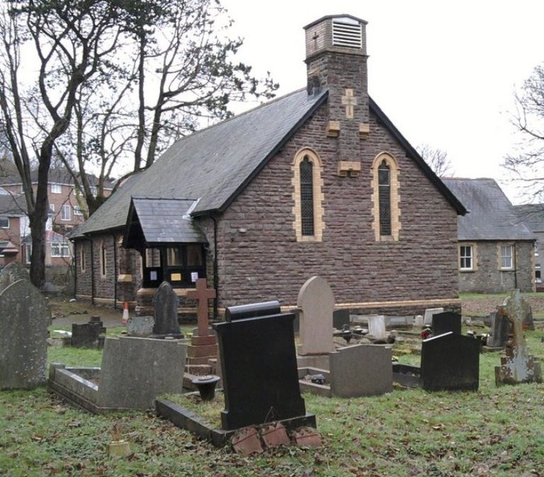 Commonwealth War Graves St. David Churchyard