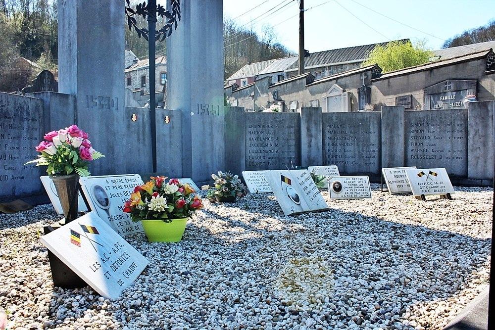 Crypte Oorlogsslachtoffers Begraafplaats Andenne