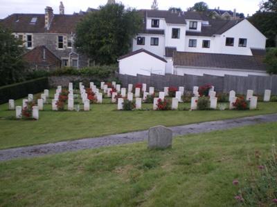 Commonwealth War Graves Weston-super-Mare Cemetery