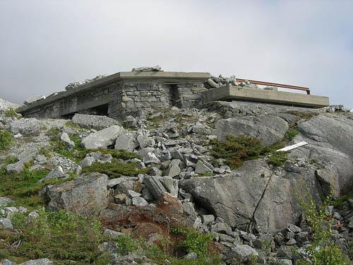 Atlantikwall - Batterie H.K.B. 16/974 Grønsvik