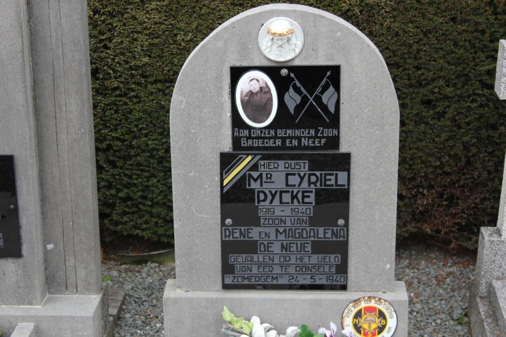 Belgian War Grave Overboelare