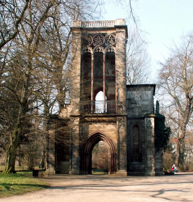 Ruïne Tempelherrenhaus Weimar