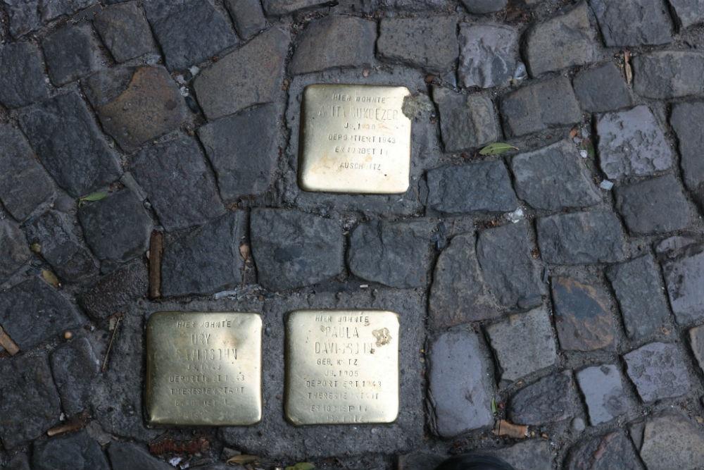 Stumbling Stones Rosenthaler Straße 40-41