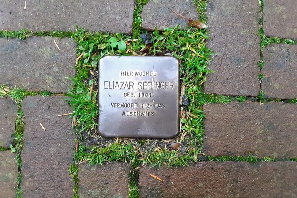 Stolperstein Lepelstraat 25 (was Lepelstraat 37)