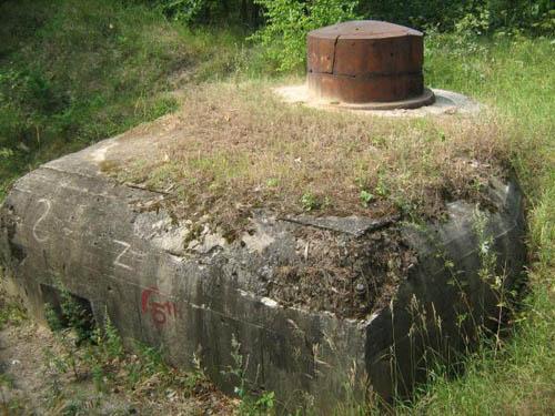 Stalinlinie - Observatiebunker Nr. 504