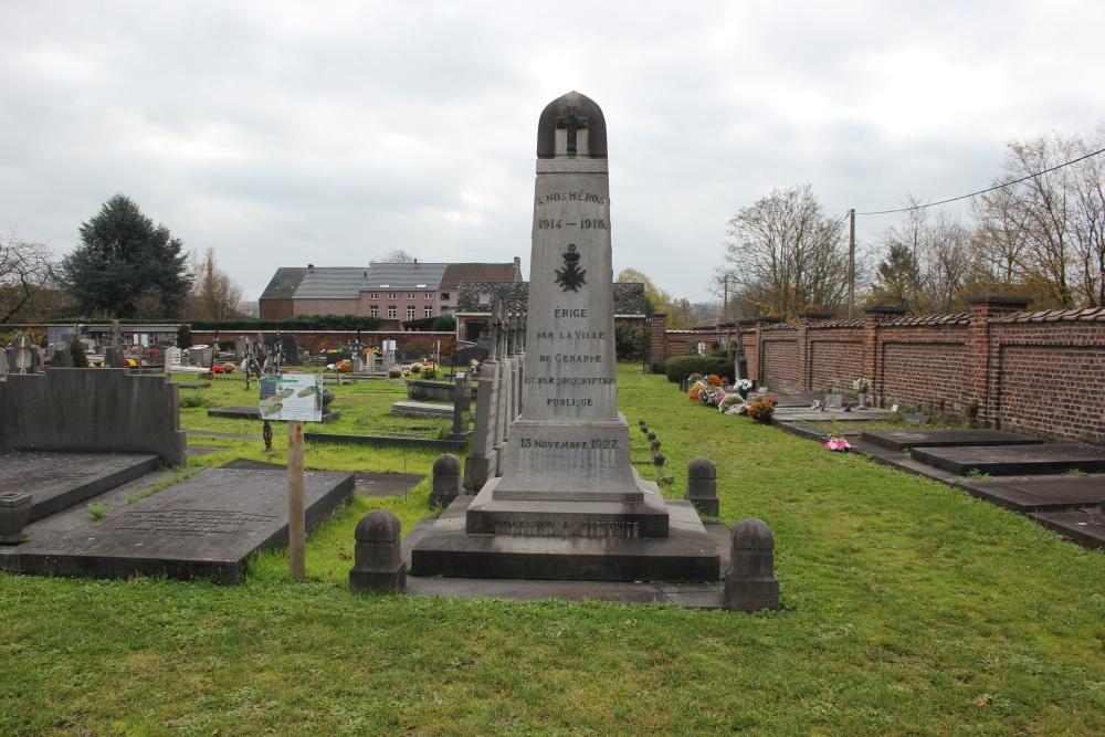 War Memorial Cemetery Genappe