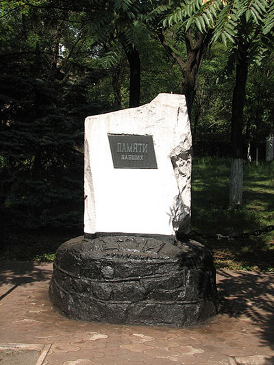 Collective Grave Soviet Soldiers Mariupol