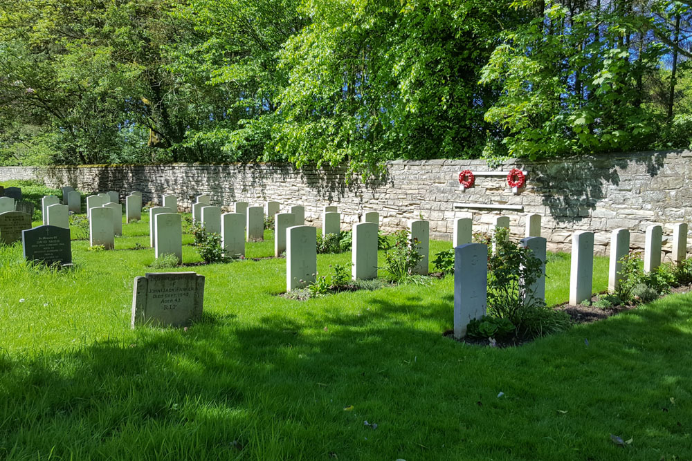 Commonwealth War Graves St. John the Baptist Churchyard Extension