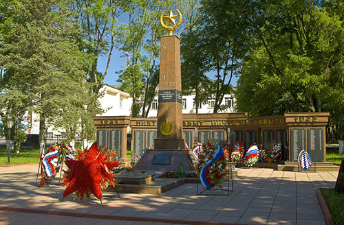 Mass Grave Soviet Soldiers & War Memorial