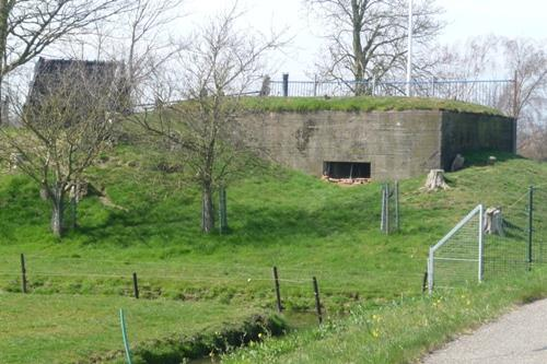 Mitrailleurkazemat Muiden-Oost