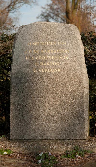 Memorial Killed Resistance Fighters