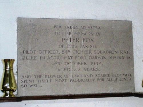 Plaquette Peter Fox