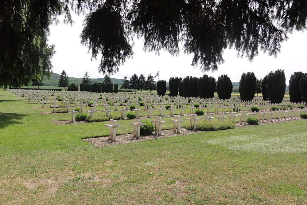 Franse Oorlogsbegraafplaats Soupir Nr.1