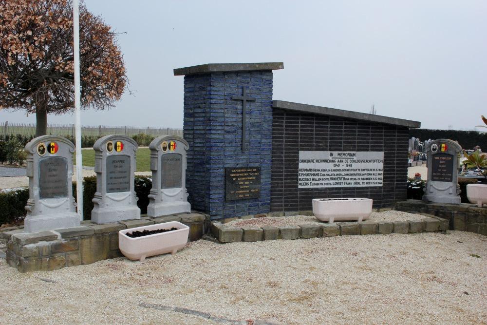 Belgische oorlogsgraven Hees
