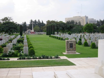Commonwealth War Cemetery Heliopolis