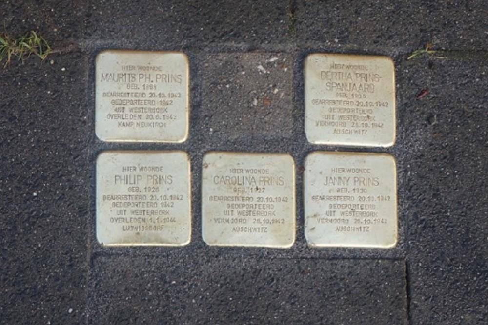 Stumbling Stones Aaltenseweg / Terborgseweg