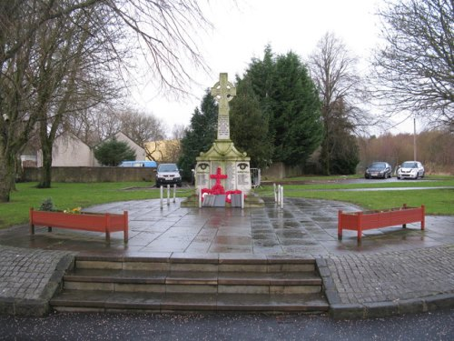 War Memorial Glenboig