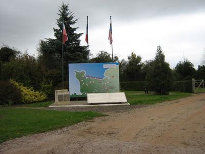 Ontmoetingsplaats Geallieerden Chambois