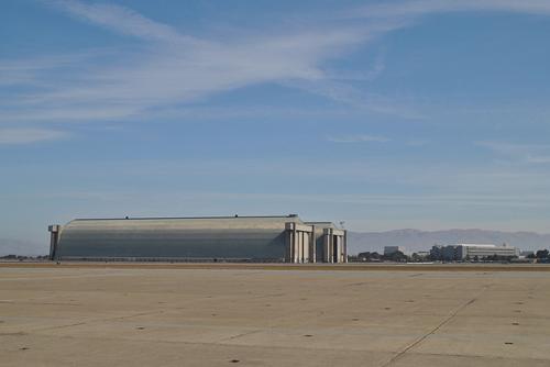 Voormalige Hangars Luchtschepen Moffett