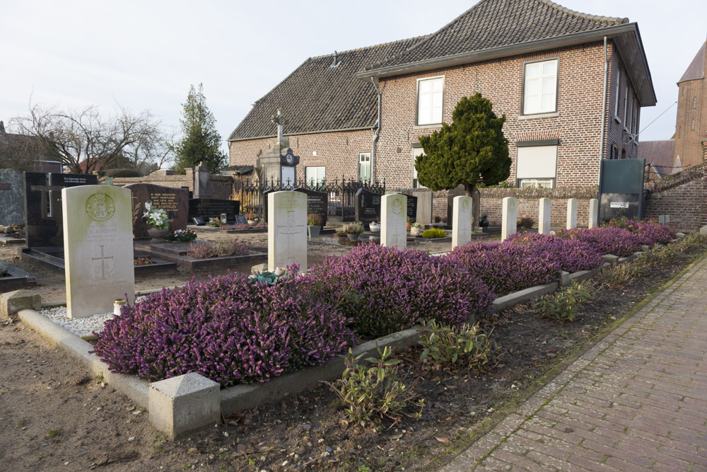 Commonwealth War Graves Roman Catholic Cemetery Ottersum
