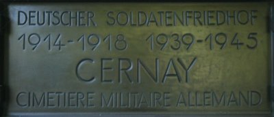 German War Cemetery Cernay