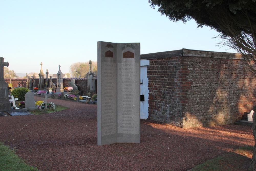 Memorial War Veterans Celles